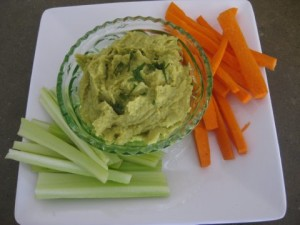 Recipe Hummus Vegetables Snack