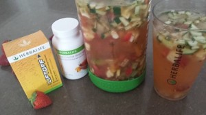 Recipe Punch with Herbal Beverage