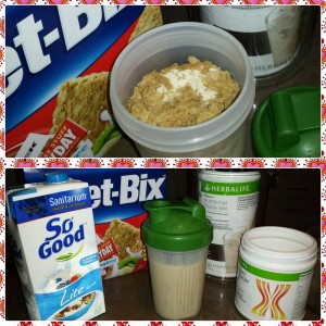 Shake Recipe - Weetbix Breaky Shake