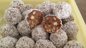 Walnut Chocolate Balls